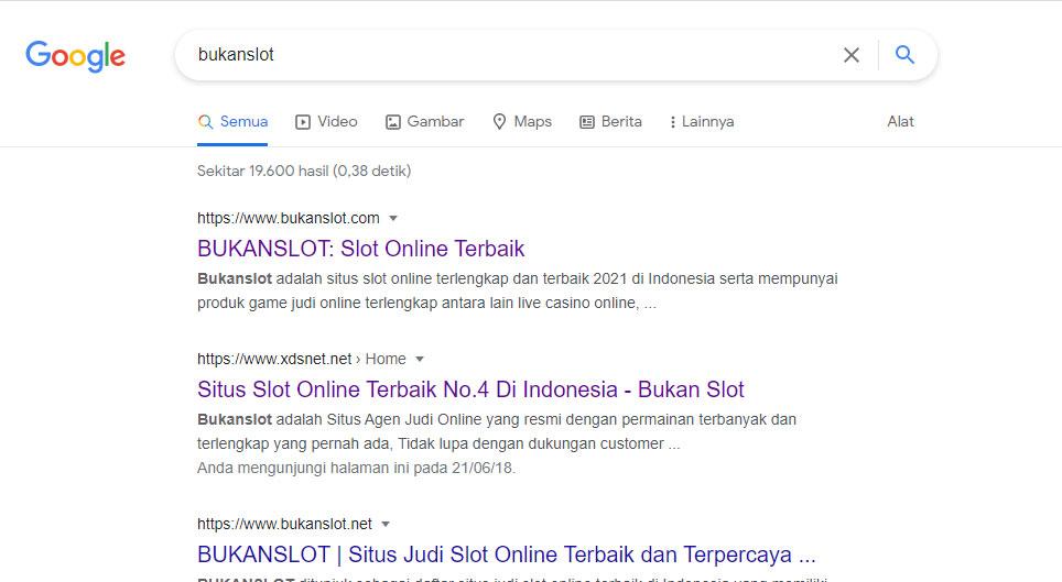 sarch google bukanslot